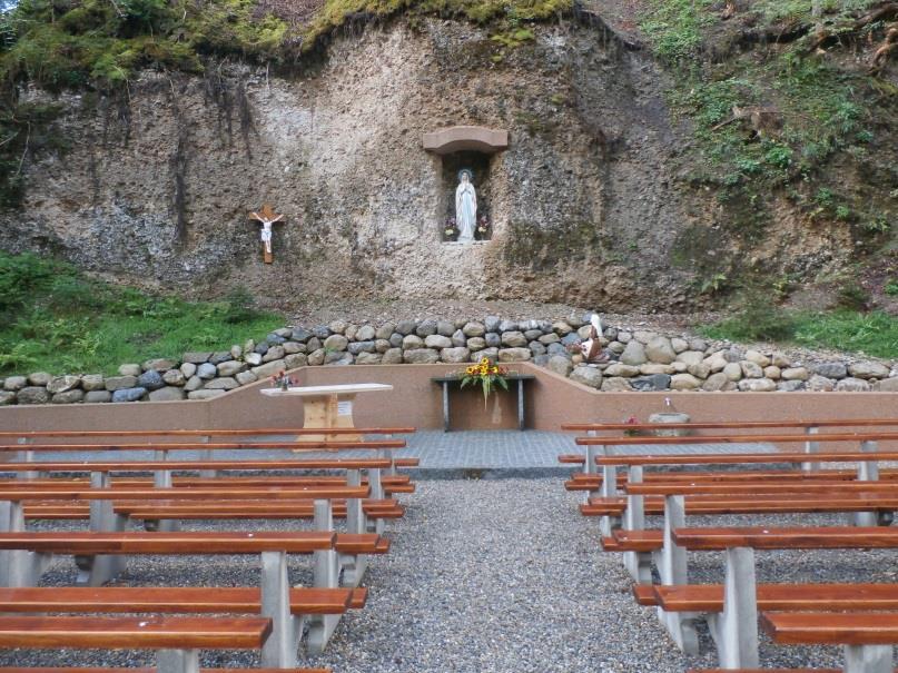 Lourdes Grotte Libingen